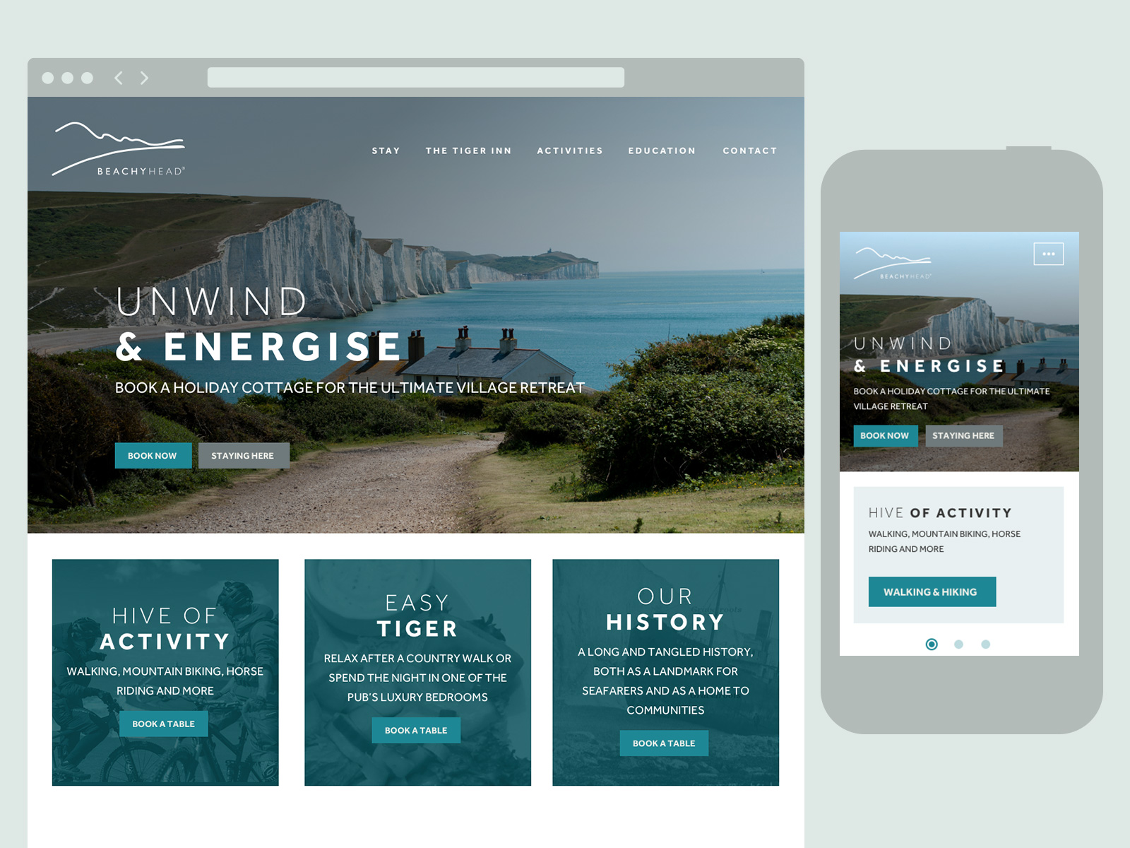 Beachy Head Home page